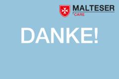 Malteser Care Danke