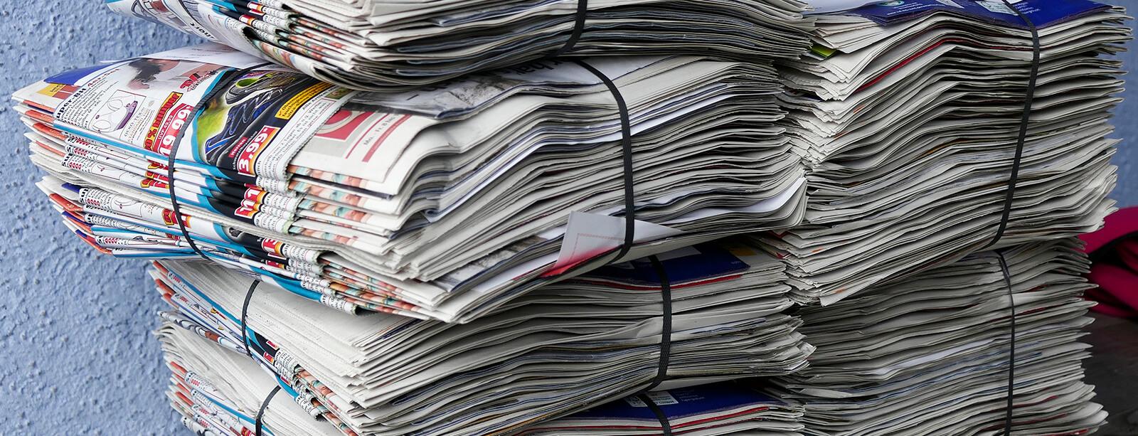 Vorlage Beitragsbild Zeitungen