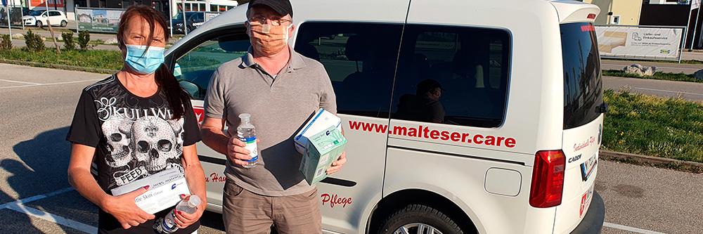 Malteser Care Erfolgsgeschichten Covid 19 Webseite BB Boxenstopp